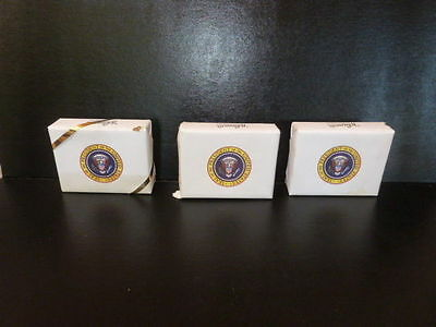 Lot Of 3 Vintage Whitman's Candies United States Us Presidential President Seal