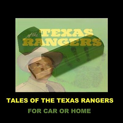 Tales Of The Texas Rangers.  Enjoy All 93 Radio Shows At Home Or When Driving!