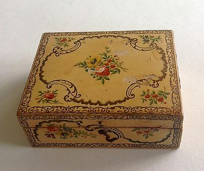 Antique Brooks Sewing Cottons Spool Box, Victorian late 1880s