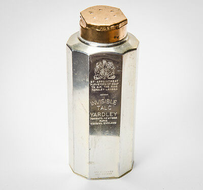Vintage talc powder