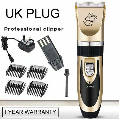 Electric Professional Pet Dog Clippers Grooming Kit Animal Hair Trimmer Cordless