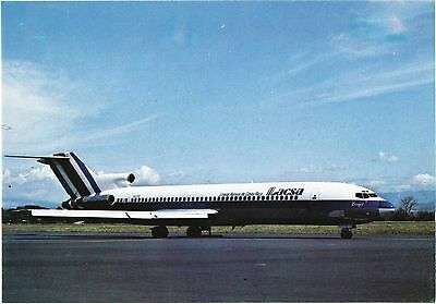 LACSA Boeing 727 Airline Issue. Aviation Airplane Postcard