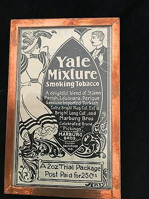 Yale Mixture Smoking Tobacco Ad