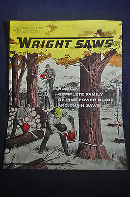 Early 1960s Wright Saws Brochure C70, 5020A & 2016