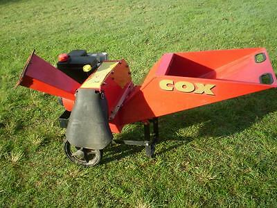 Cox 5hp petrol chipper shredder mulcher Gr7200H enduro over head valve motor