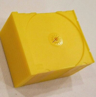 Cd Trays Yellow ( 20 ) Count / For Standard Jewel Case