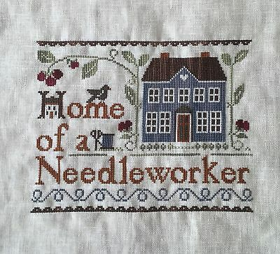 Completed Cross Stitch: Little House Needleworks - Home of a Needleworker