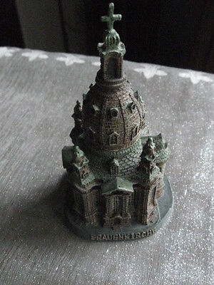 German Dresden Frauenkirche Paperweight Church Of Our Lady Art Piece Figurine