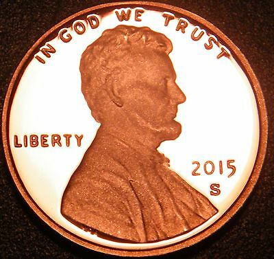 2015 S Gem Proof Lincoln Cent Penny Shield Gem Proof Us Coin
