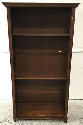 Contemporary Wood Bookcase Lot 2105