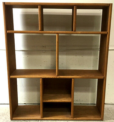 Contemporary Wood Bookcase Lot 2453