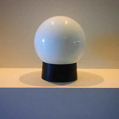 Vintage Round 1980's milk glass ceiling/wall light shade ball/round