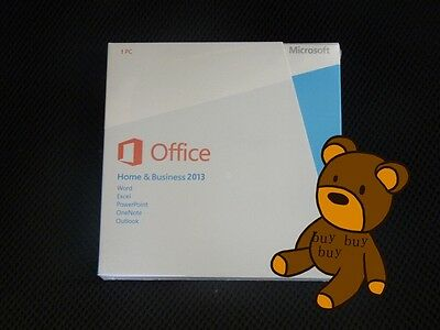 Microsoft Office 2013 Home and Business 32-bit/x64 With DVD