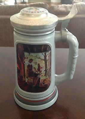 Avon The Building of America Stein Collection The Blacksmith 37705 Brazil 1985