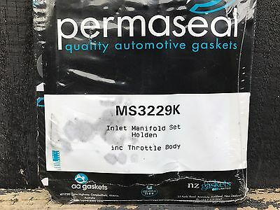 Permaseal Ms3229K Inlet Manifold Gasket Set To Suit Holden Commodore Vx Vy V6