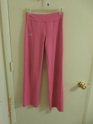 Girls Pink Pants Under Armour Youth Medium Athletic