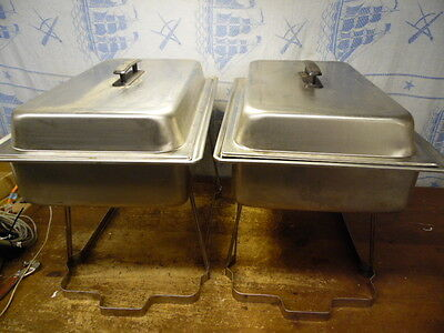 Vollrath Commercial Stainless Chafer Chafing Dish Server Party Buffet Warmer X2