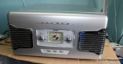 Teac SL-A100 Retro-styled AM/FM /Turntable w/ line out / built in AMP / speakers