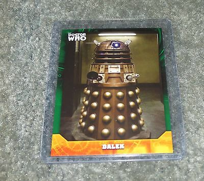 2017 Topps Doctor Who Signature Series Base Card 32 Green Parallel 30 / 50