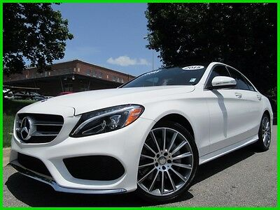 2015 Mercedes-Benz C-Class C 300 4MATIC® C300 PANORAMIC SUNROOF HEATED SEATS BLIND SPOT NAVIGATION BACK UP CAMERA
