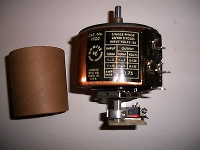 OHMITE VARIABLE TRANSFORMER  1 ph.  1.75 amp