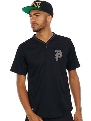Primitive Black Dirty P Practice Baseball Jersey
