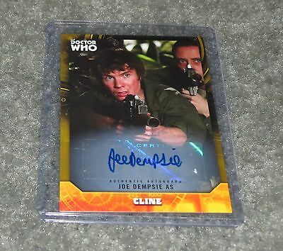2017 Topps Doctor Who Signature Cline Gold  Autograph 15 / 25