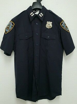 Police Uniform Shirt/Hemd, Cop, NYPD, LAPD, Gr: S, M, XL, XXL, New York Police
