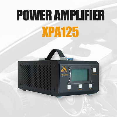 Xiegu XPA125 HF Ham Radio Power Amplifier 125W QRP ALC LC Antenna Tuner Function