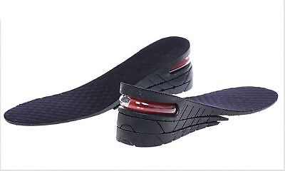 Women and Men Shoe Insole Air Cushion Heel Insert Increase Height Lift Shoe Pad