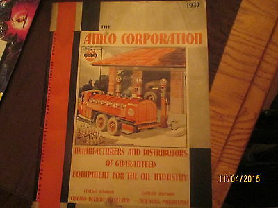 1932 Amco Corporation Catalog Equipment for the oil Industry