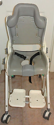 Size 2 Flamingo R82 Child Commode toilet bathing shower mobile chair
