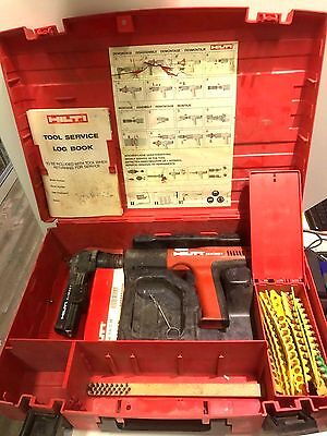 HILTI DX351 + MX27 Fully Automatic Powder-Actuated Tool Nail Gun in Case(X32932)