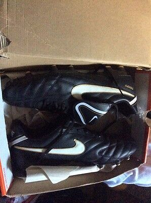 Nike Football Boots Tiempo Size 12.5 Footy Soccer Sz