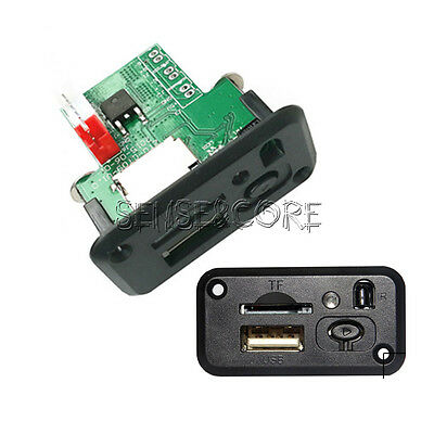 5V 7-12V Mini MP3 Player Module with USB TF MP3 WAV IR Lossless Decoding Board