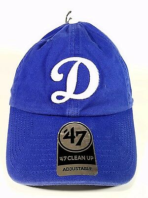 """Los Angeles Dodgers """"D"""" 47 Brand Clean up hat, soft Unstructured Unisex One Size"""