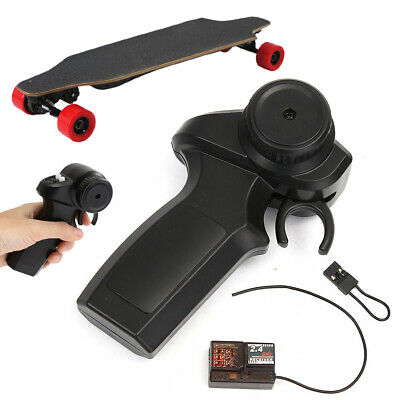 Electric Skateboard 2.4GHz Remote Controller Transmitter + Receiver Binding Plug