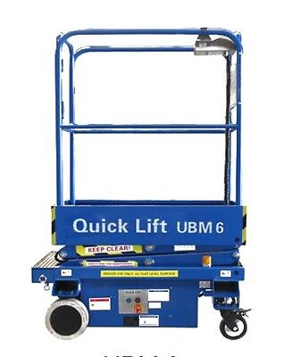UBM6 - 6FT Self Propelled Scissor Lift