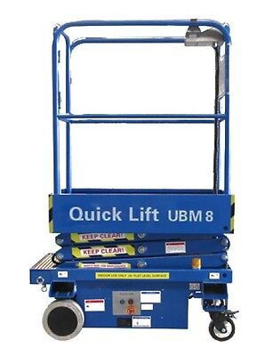 UBM8 - 8FT Self Propelled Scissor Lift
