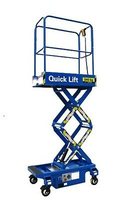 UB6 - 6FT Push Around Scissor Lift