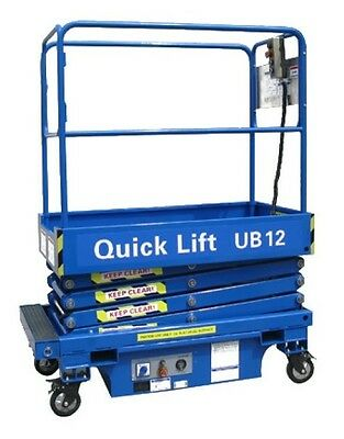 Ub12 - 12Ft Push Around Scissor Lift