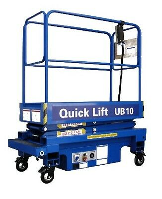 Ub10 - 10Ft Push Around Scissor Lift