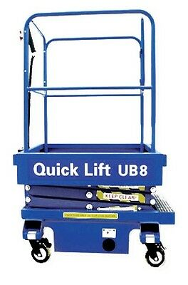 UB8 - 8FT Push Around Scissor Lift