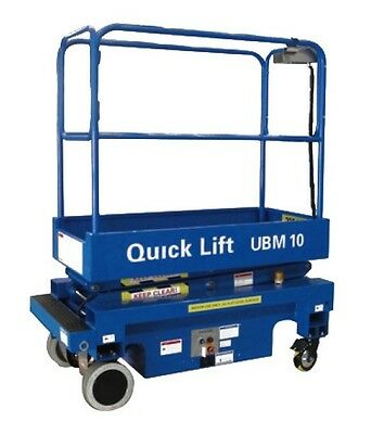 Ubm10 - 10Ft Self Propelled Scissor Lift