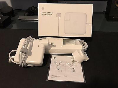 Genuine Original Apple 85W AC Power Adapter Charger for MagSafe 2 MacBook Pro