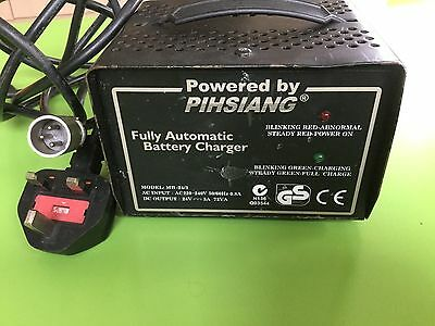 Genuine Pihsiang mobility scooter battery charger. 24v. 3amp. used.