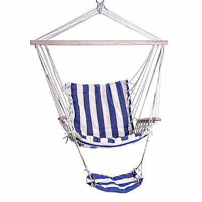 Outdoor Hammock Chair Hanging Swing Chairs Patio Backyard Camping Relax Summer