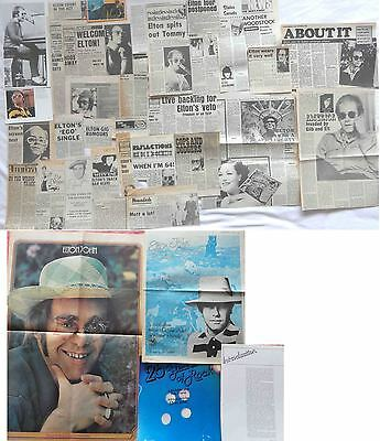 ELTON JOHN : CUTTINGS COLLECTION -1970s-