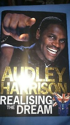 Audley Harrison book
