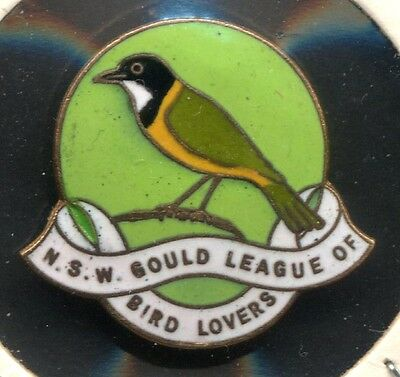 NSW Gould League Of Bird Lovers 1940 Members Badge